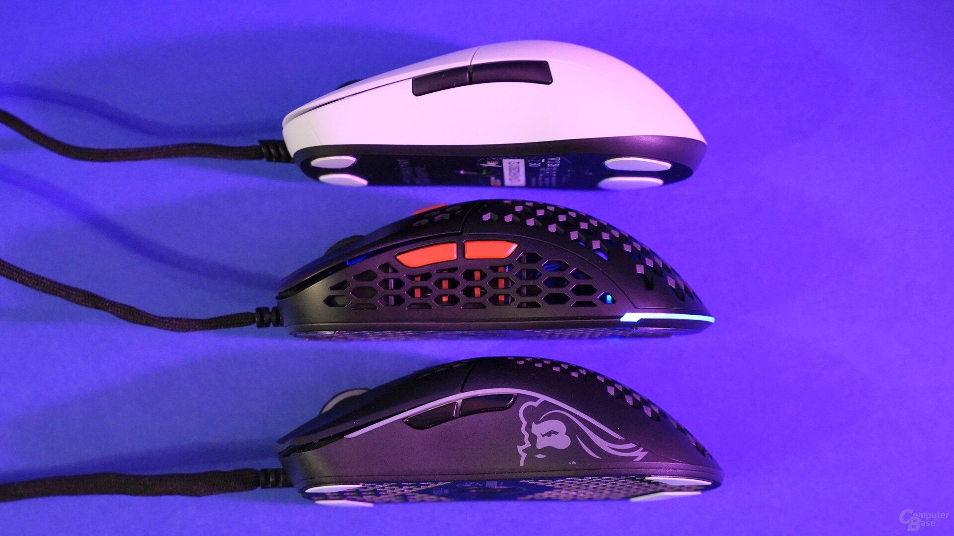 Endgame Gear XM1, SPC Gear LIX Plus & Glorious Model O