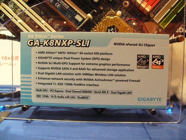 Gigabyte GA-K8NXP-SLI