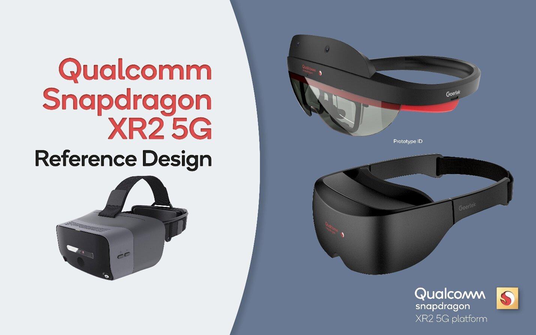 Mögliche Varianten des Qualcomm Snapdragon XR2 Reference Design