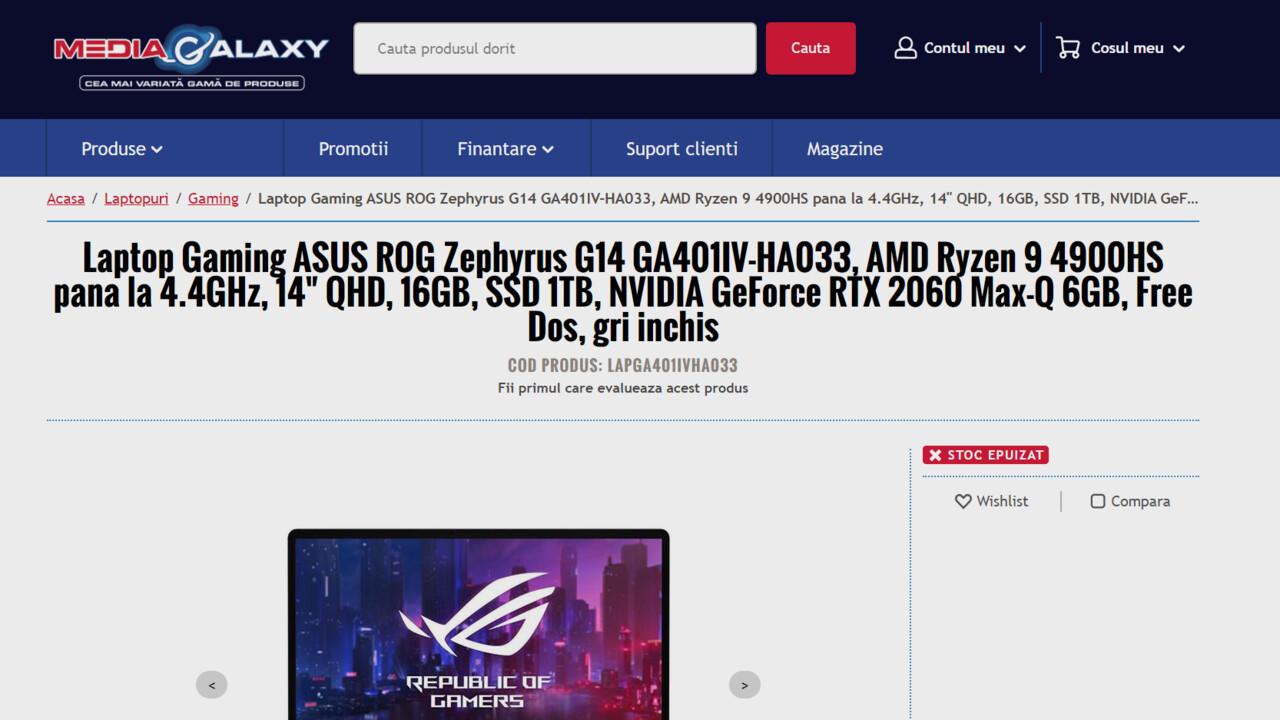 AMD Ryzen 9 4900H(S): Renoir-APU für Notebooks noch eine Stufe höher