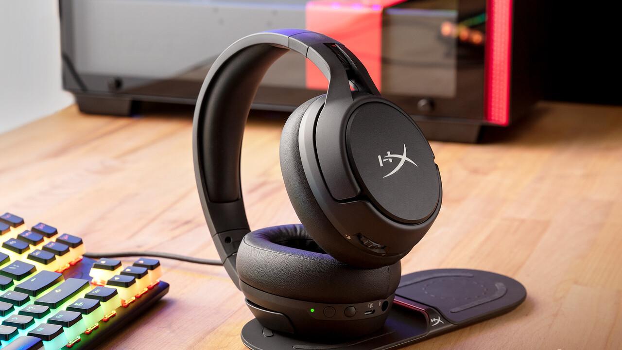 HyperX Cloud Flight S: Headset mit langer Laufzeit und kabellosem Laden