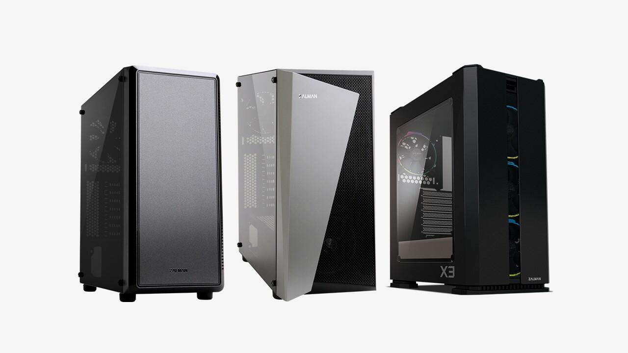 Zalman S4, S4 Plus & X3: Gehäuse mit Fenster und Licht in zwei Preisklassen