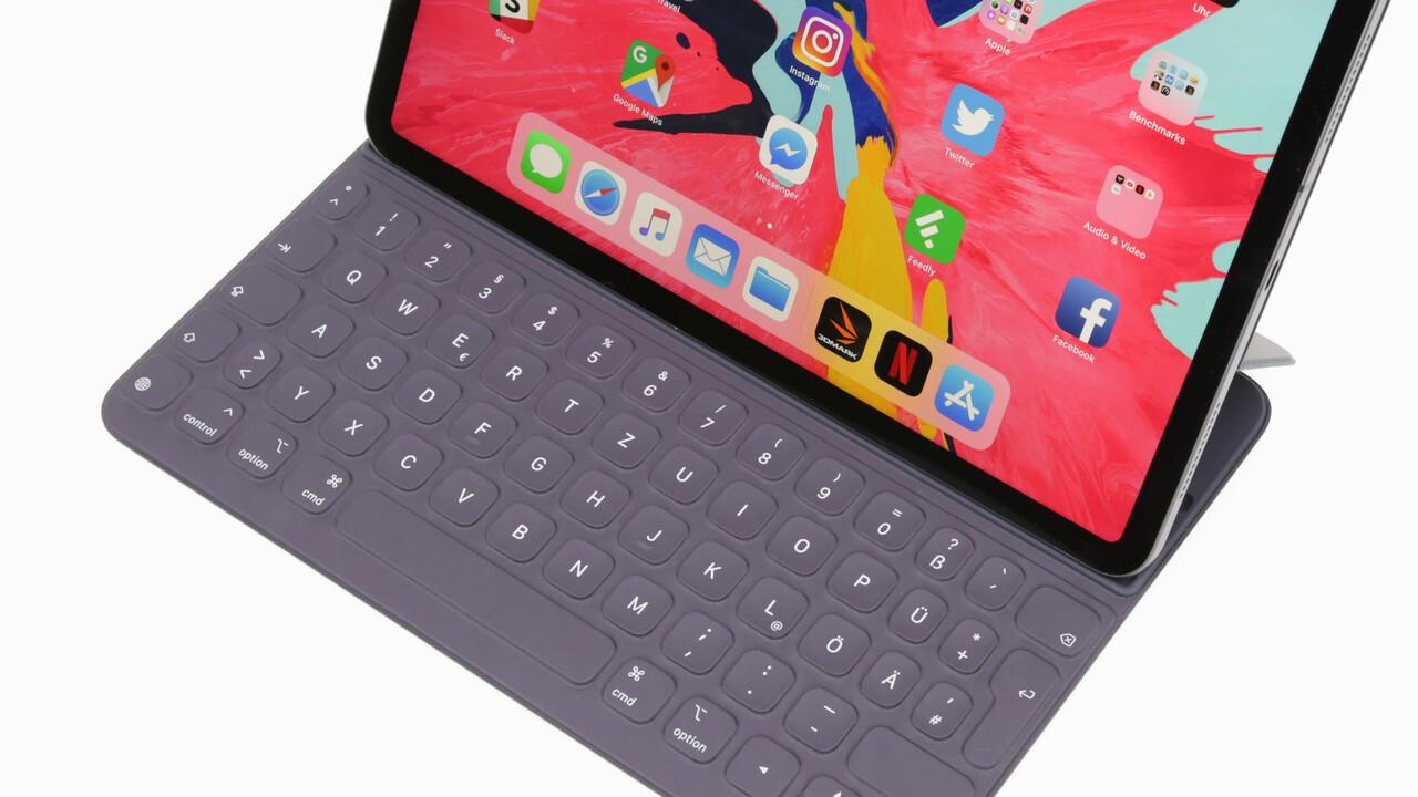 iPad Pro: Apple soll Smart Keyboard mit Trackpad planen