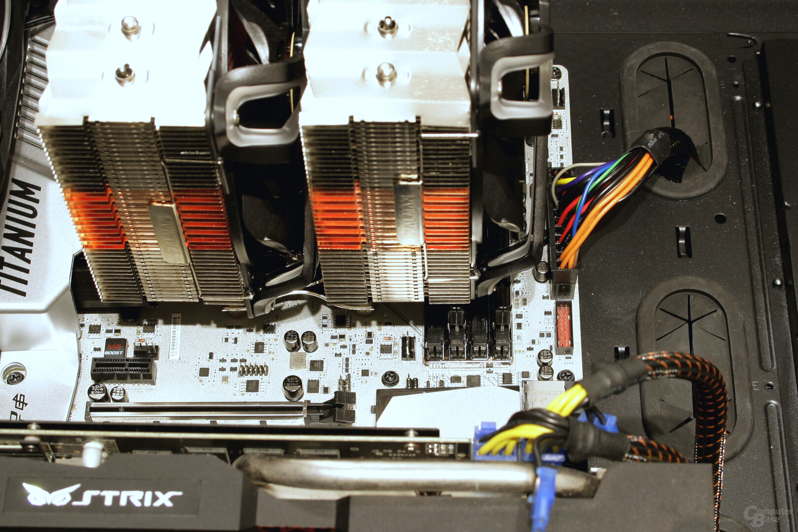 Zalman CNPS20X: RAM wird überragt