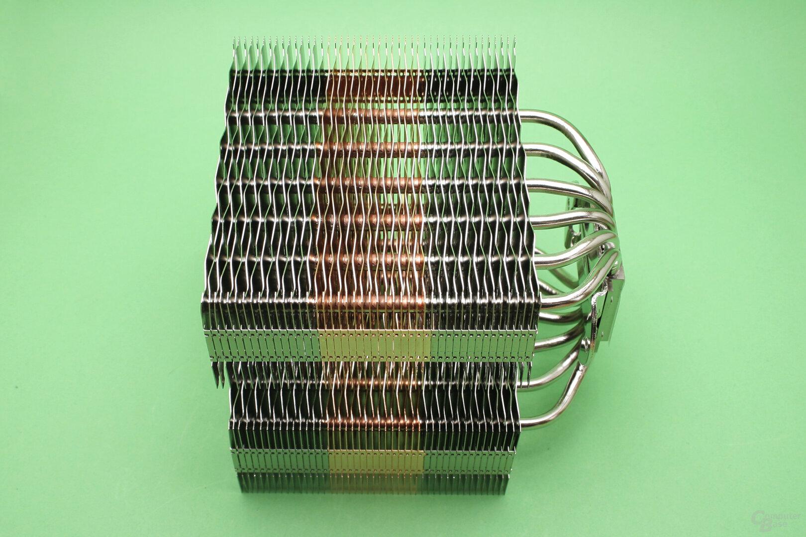 Zalman CNPS20X: Detailansicht Radiator