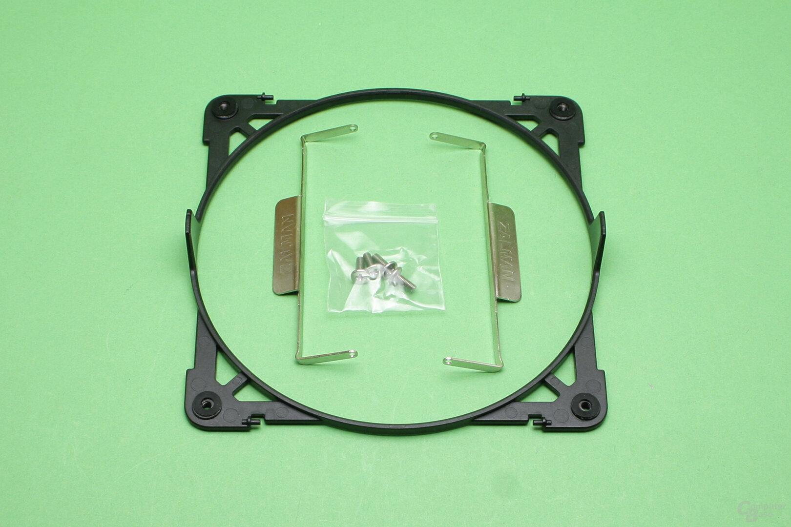 Zalman CNPS20X: Montagerahmen für Serienlüfter