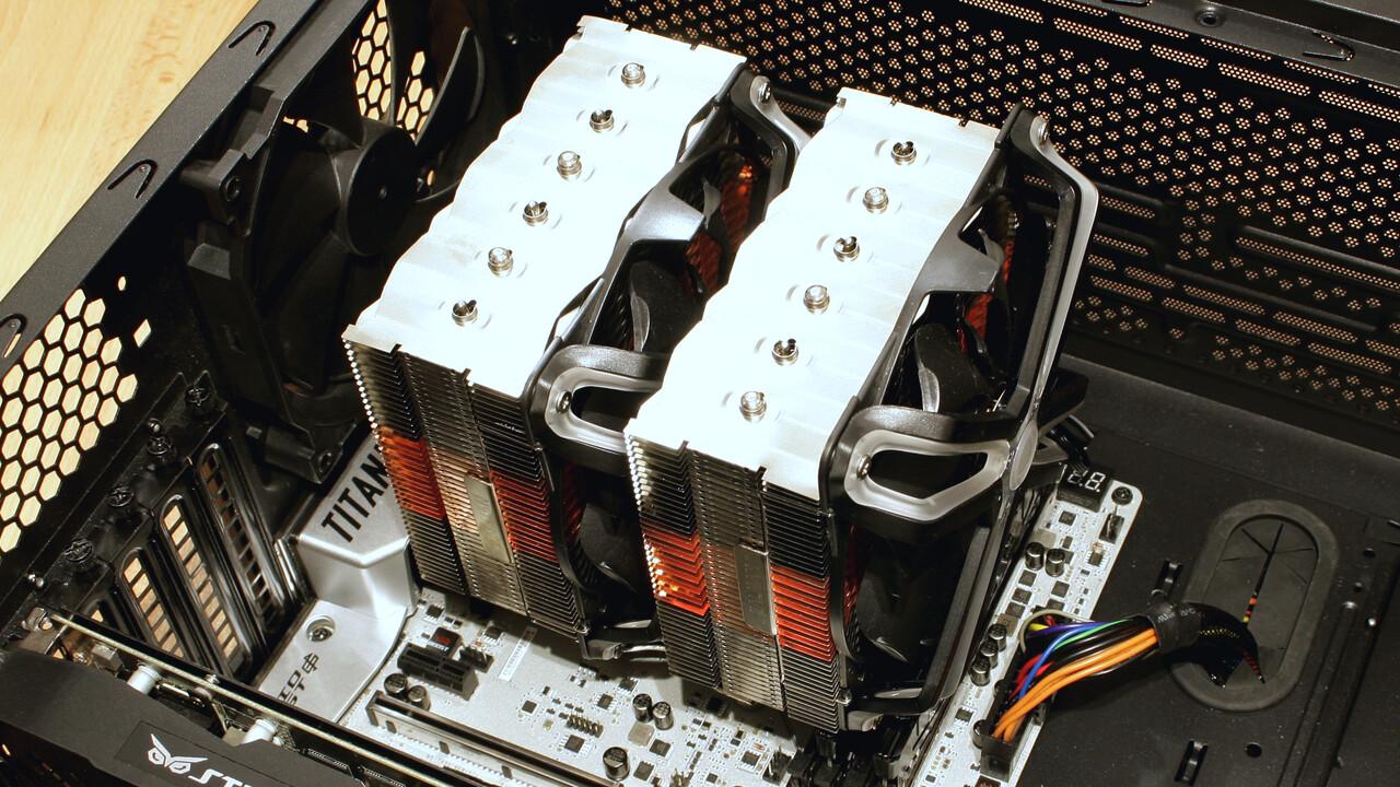 Zalman CNPS20X im Test: Doppel-Turm-CPU-Kühler mit Tradition