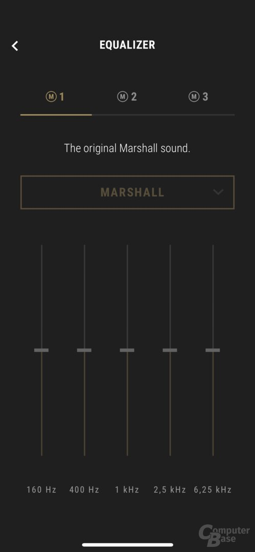Marshall Bluetooth-App mit Marshall Monitor II A.N.C.