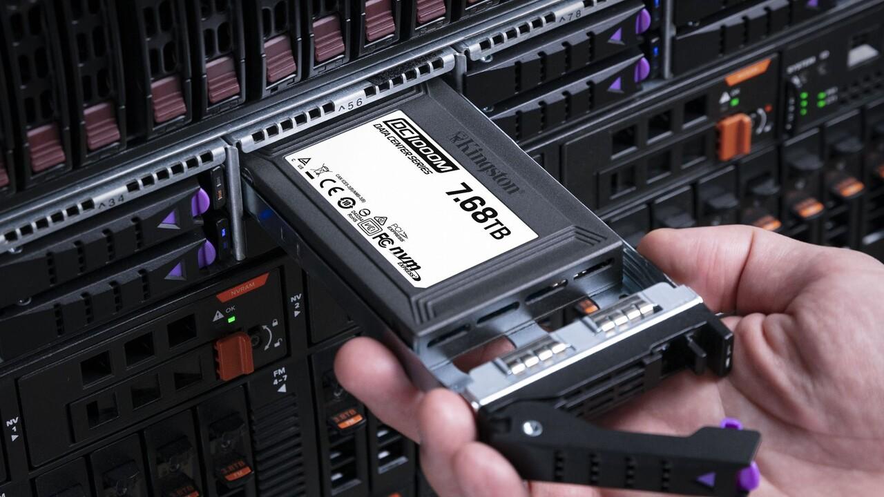 Kingston DC1000M: Enterprise-SSDs mit 3,1GB/s über U.2 erhältlich