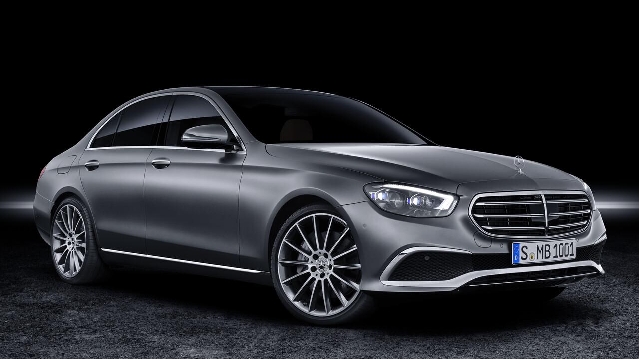 Mercedes-Benz: Neue E-Klasse kommt mit kapazitivem Touch-Lenkrad