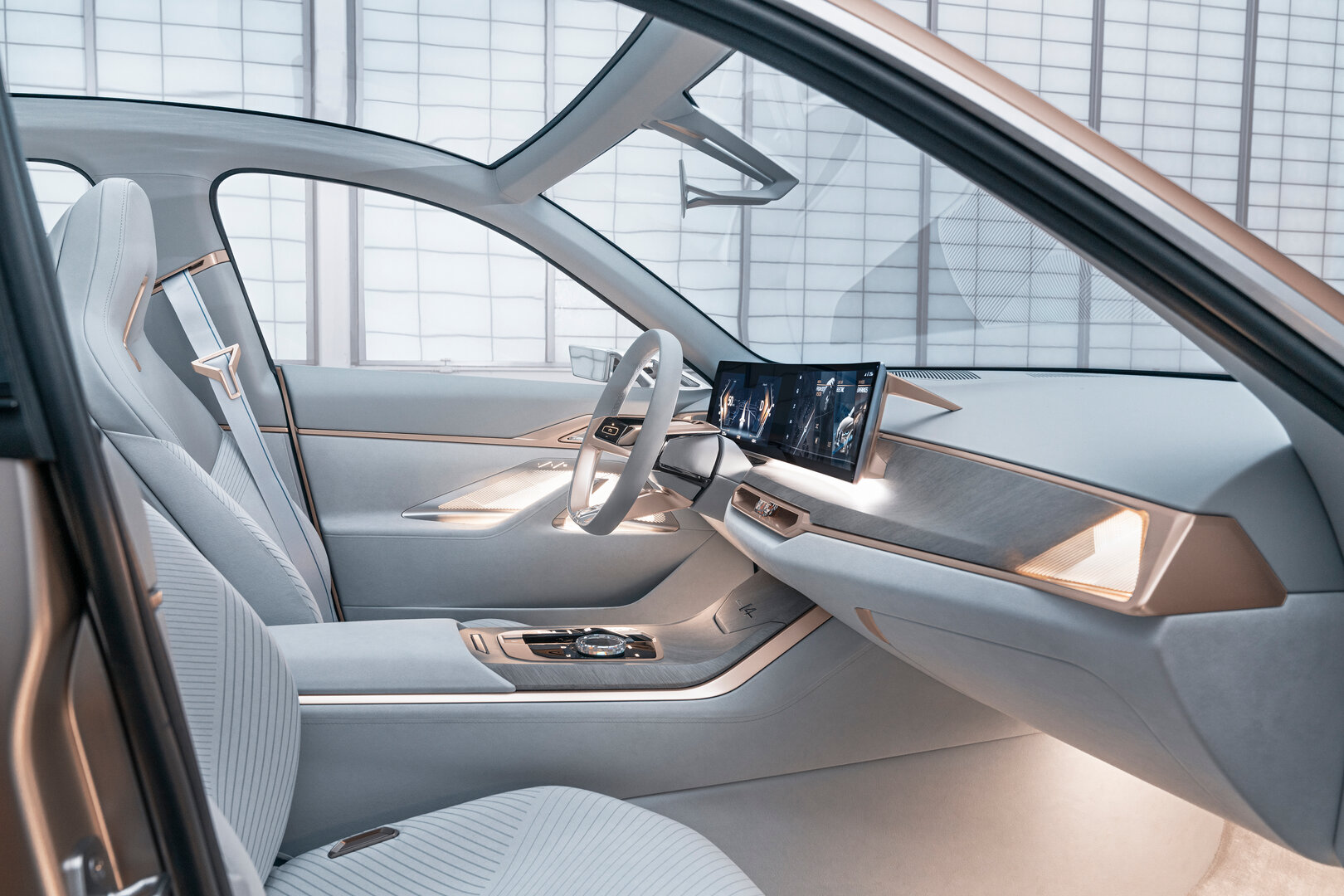 BMW Concept i4 Interieur