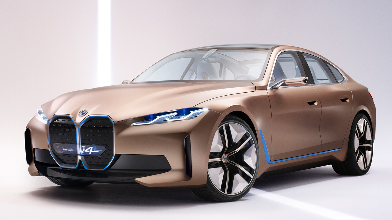 BMW: Concept i4 gibt Ausblick auf nächstes Infotainmentsystem