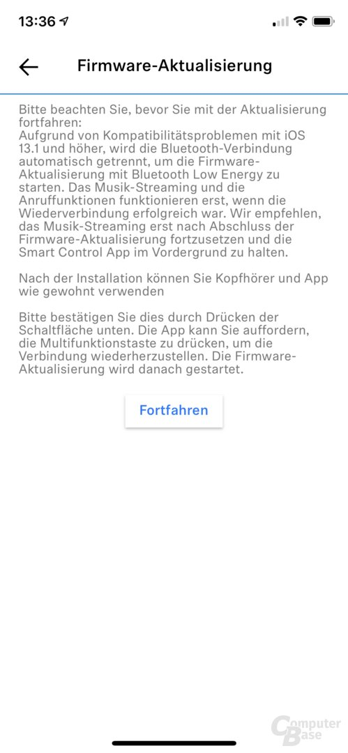 Sennheiser Smart-Control-App mit Momentum 3 Wireless