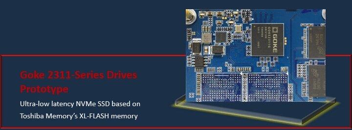 Goke 2311 als NVMe-SSD mit XL-Flash