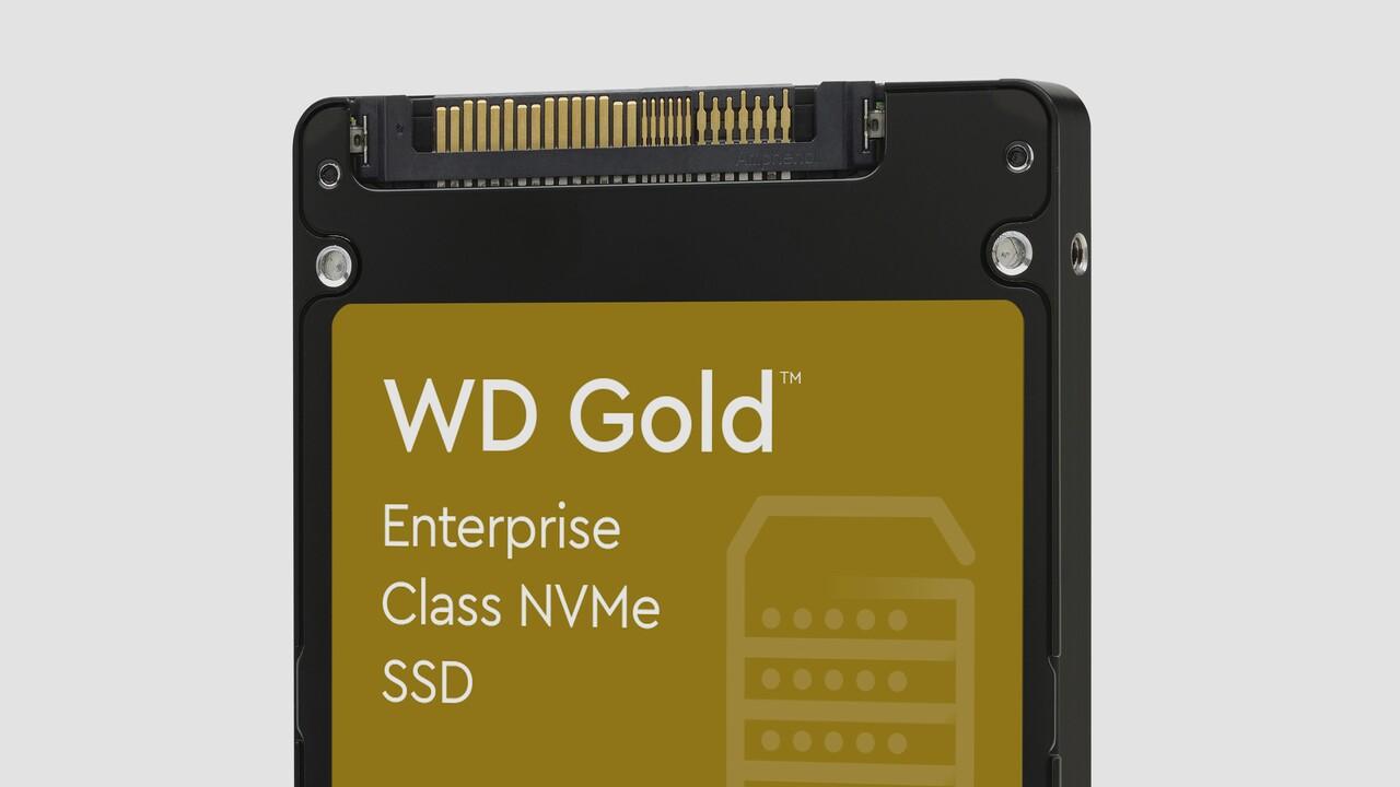 WD Gold: Die nächste HDD-Marke gibt es nun auch als SSD
