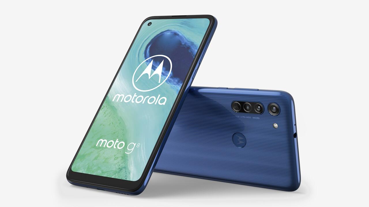 Motorola: Moto G8 kommt mit Triple-Kamera für 200Euro