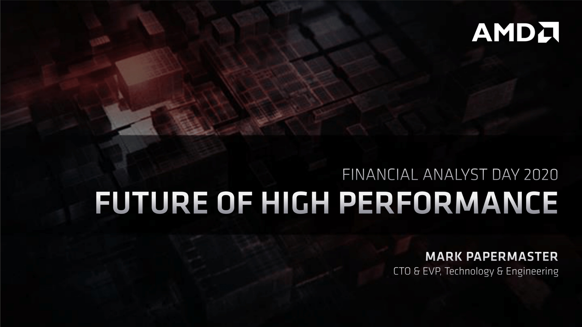 Mark Papermaster: Future of High Performance
