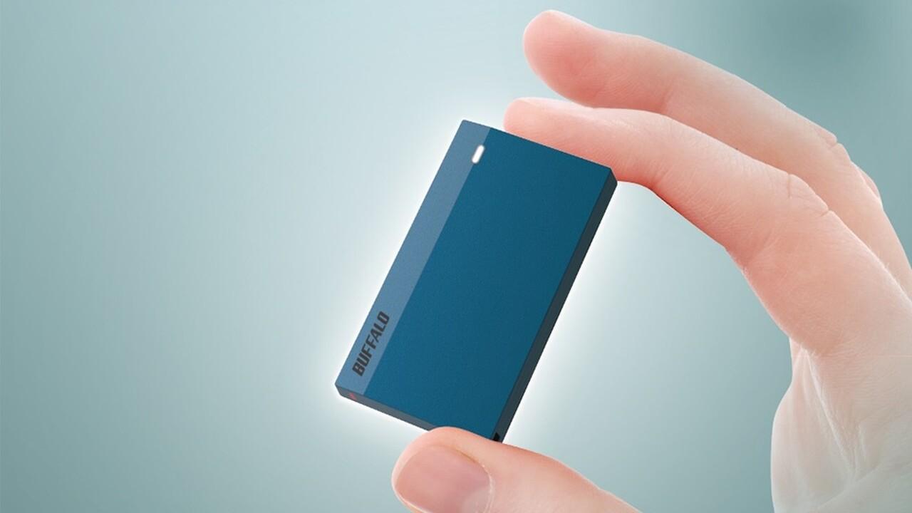 SSD-PSMU3: Buffalo stellt 15 Gramm leichte Mini-SSD vor