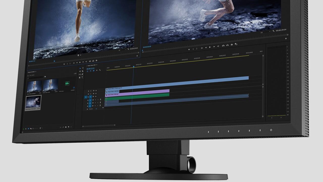 ColorEdge CS2740: Eizos neuer Grafik-Monitor soll sich schnell kalibrieren lassen