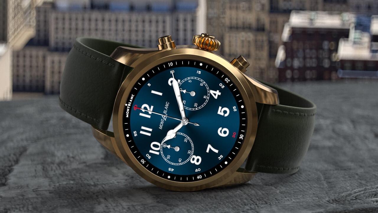 Luxus-Smartwatch: Montblanc Summit 2+ mit LTE und eSIM wächst auf 43,5mm