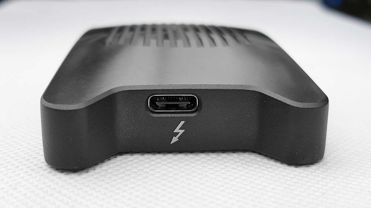 unibos Storage Box: Kompaktes Thunderbolt-3-Gehäuse für externe SSDs