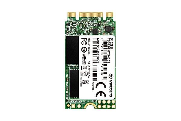Transcend M.2 SSD 430S mit 42 mm Länge