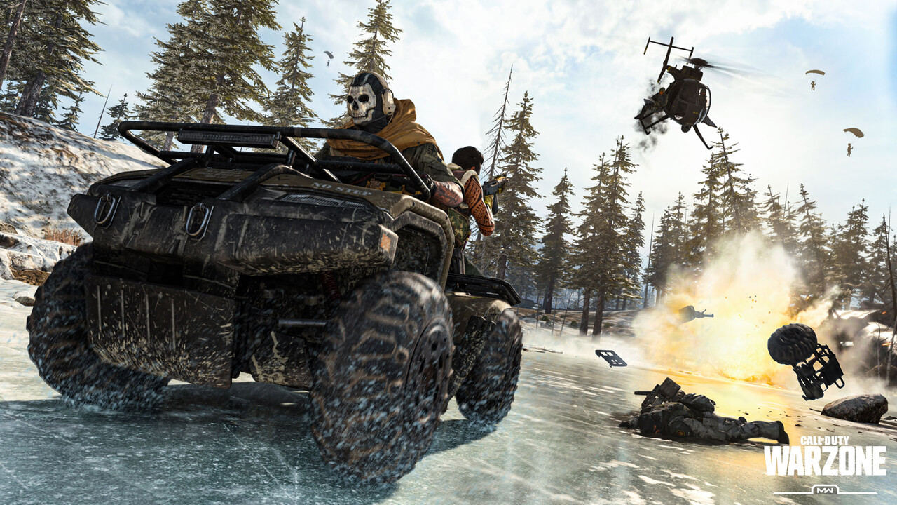 Warzone: Call of Duty trifft auf Free-to-Play und Battle Royale