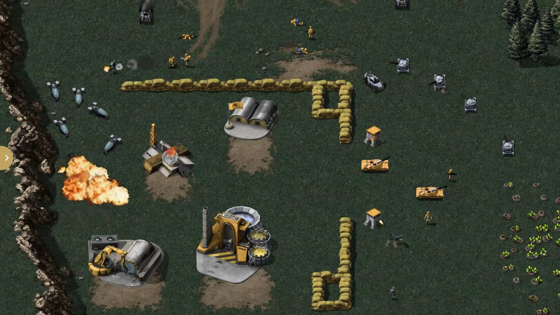 Command & Conquer: Remastered – Grafikvergleich