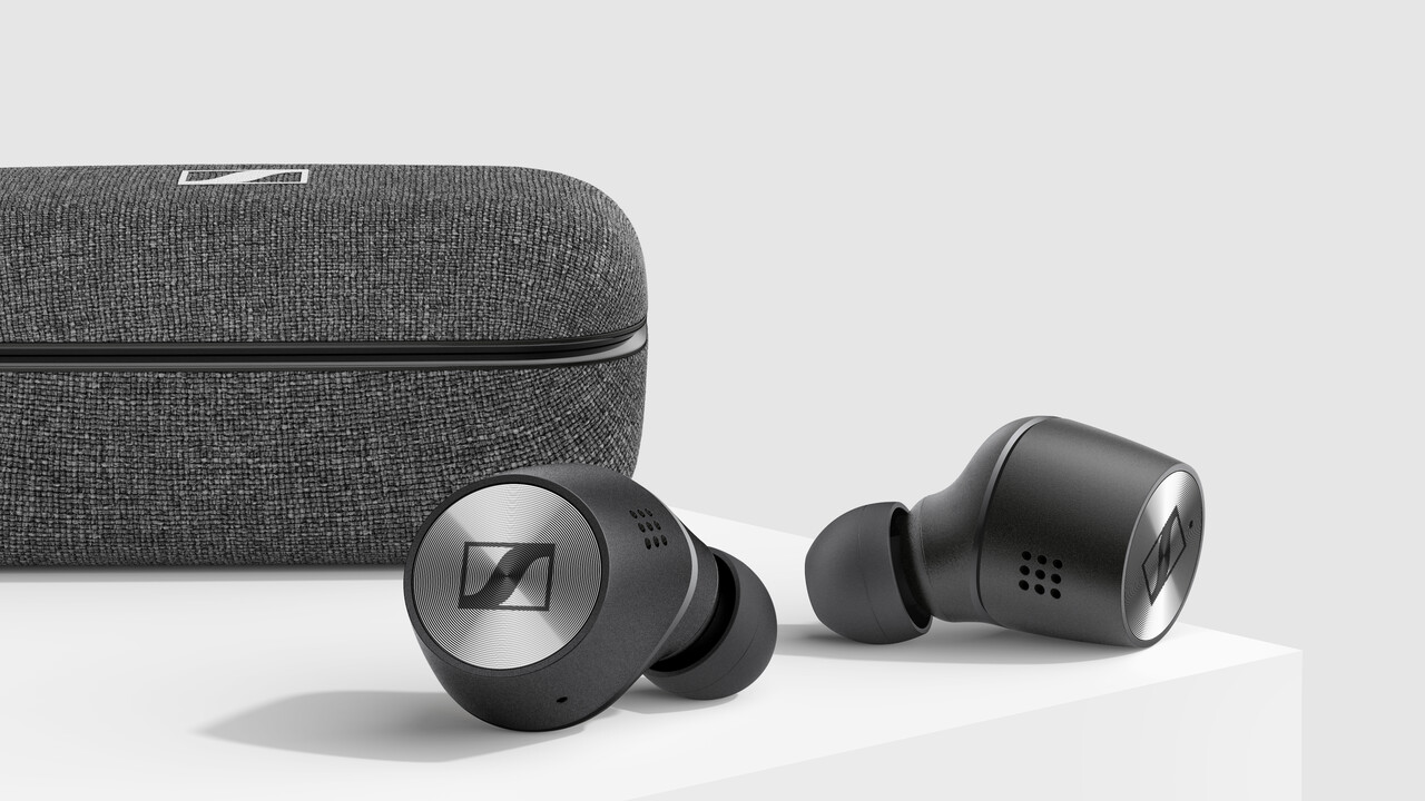 Sennheiser Momentum: True Wireless 2 mit ANC und mehr Puste trotz Schrumpfkur