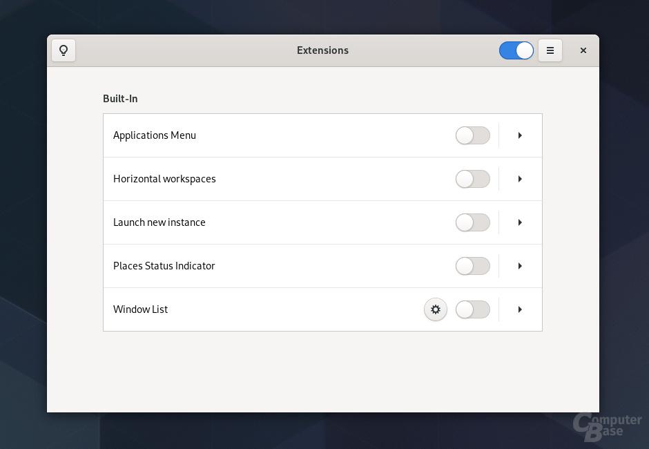 Extensions-App 3.36