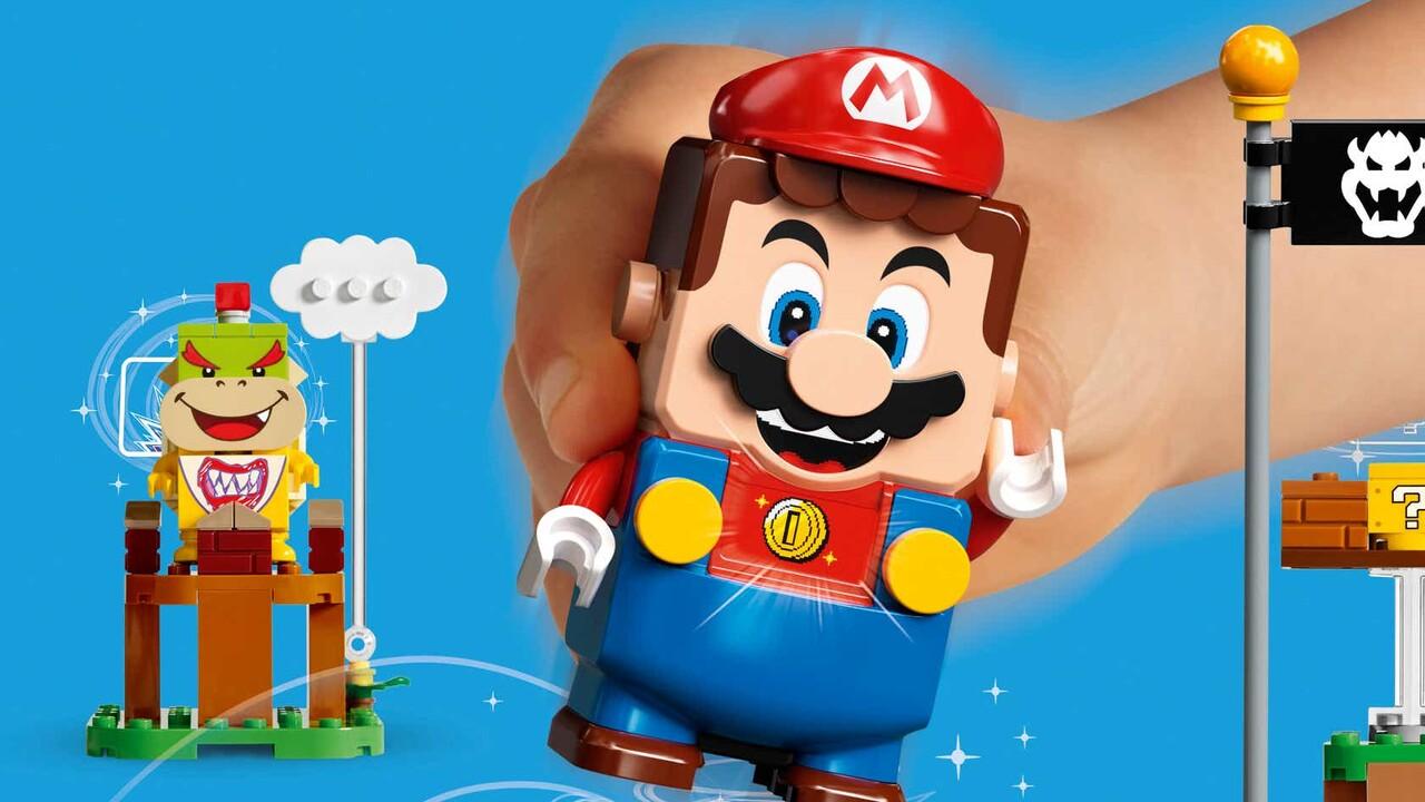 Lego Super Mario: Interaktive Spielwelten kommen noch 2020