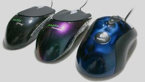 Im Test vor 15 Jahren: Razer Viper und Diamondback gegen Logitechs MX510