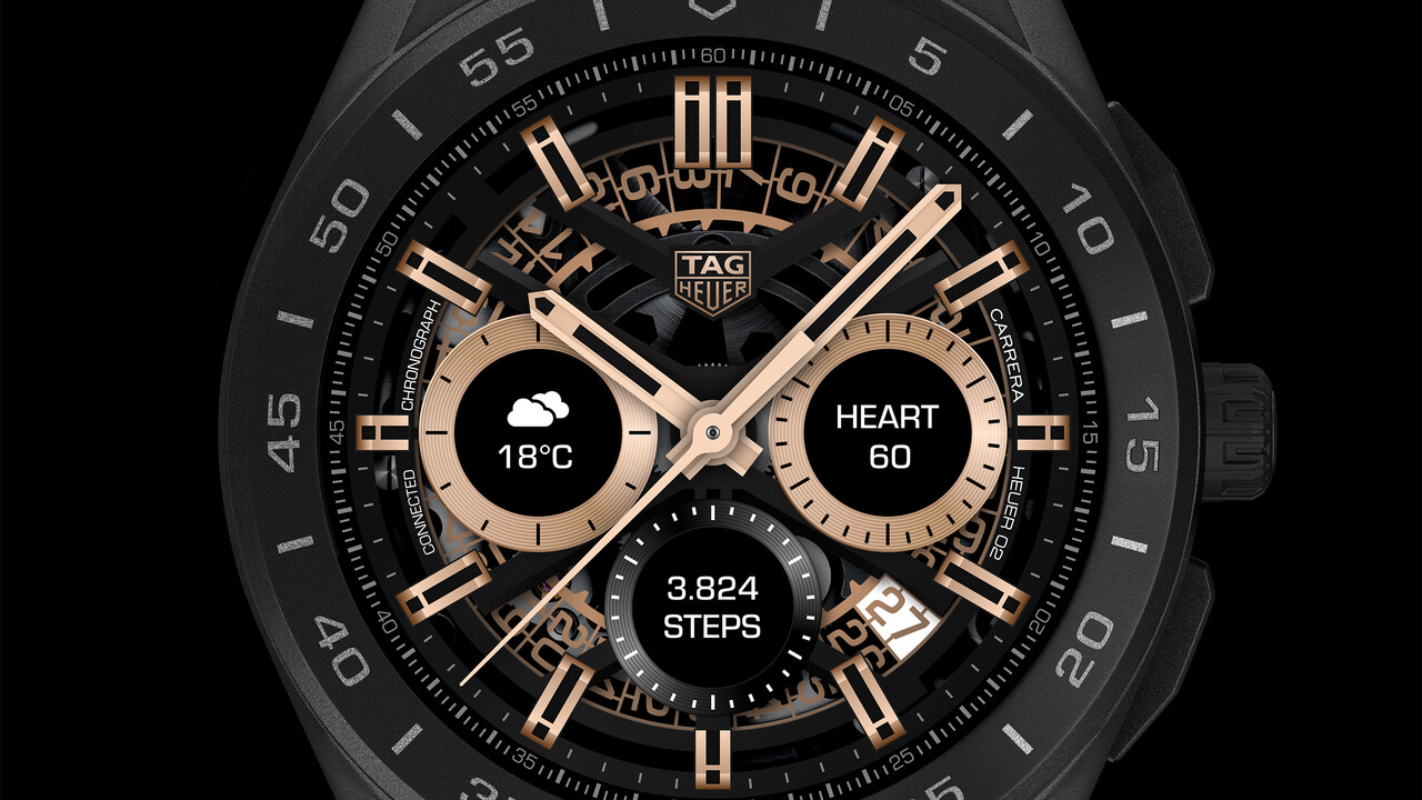 TAG Heuer Connected: 3. Generation kommt mit SD 3100 ab 1.700 Euro