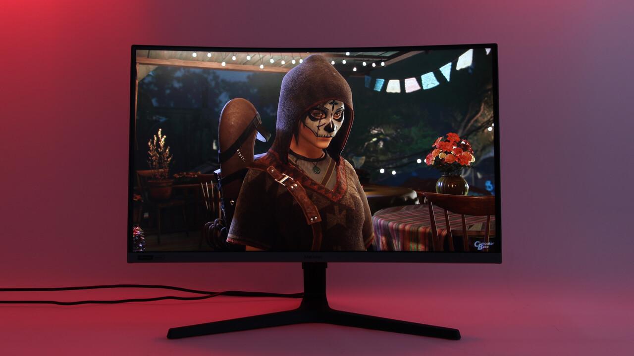 Samsung C27RG50 im Test: 240 Hz mit Full HD und VA-Panel reichen nicht
