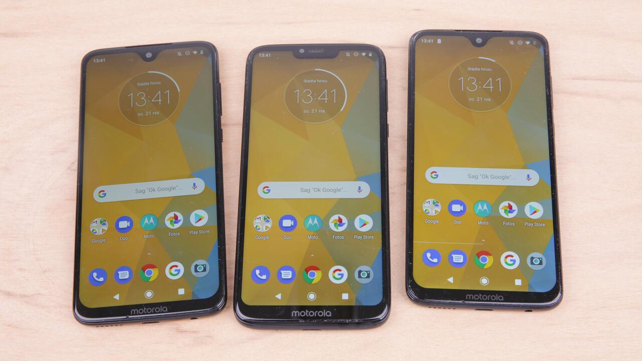 Android 10: Updates für Moto G7 Plus, One Action und One Vision sind da