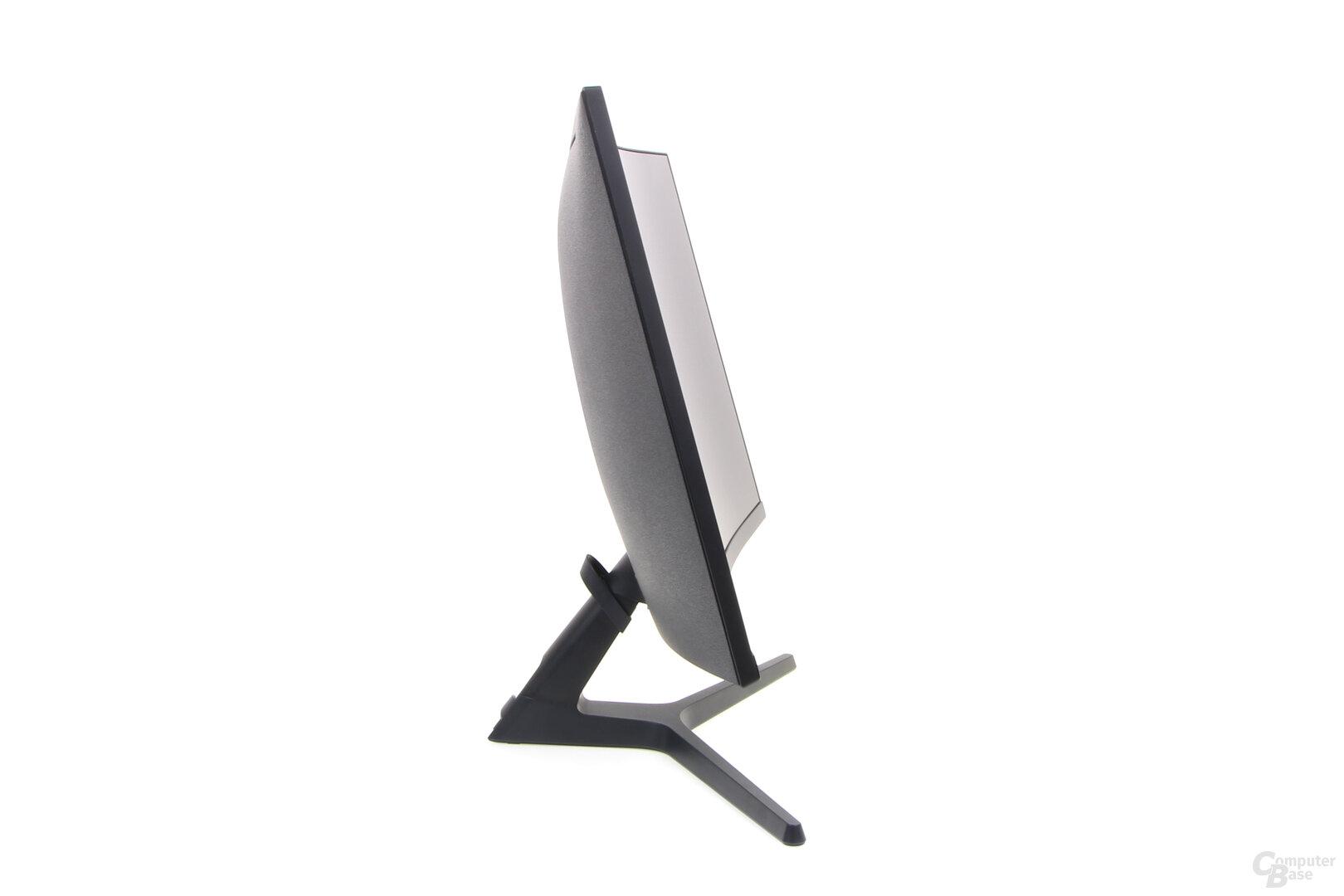 Samsung C27RG50: Das Display ist neigbar, mehr aber nicht