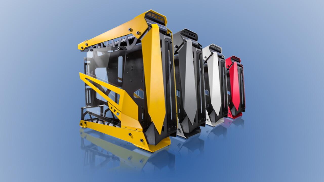 Zwei GPUs gedreht: Raijintek Nyx Pro nutzt ITX-Layout für E-ATX-Gehäuse