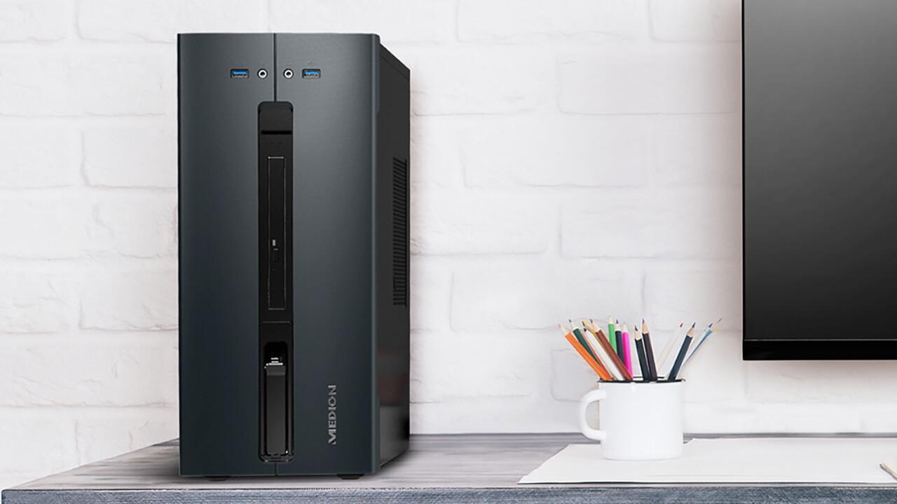 Medion Akoya E62009: Neuer Aldi-PC kostet 499 Euro und ist aufrüstbar