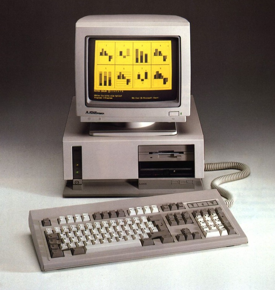"""""""Flyerdommo"""" zeigt einen Atari PC4"""