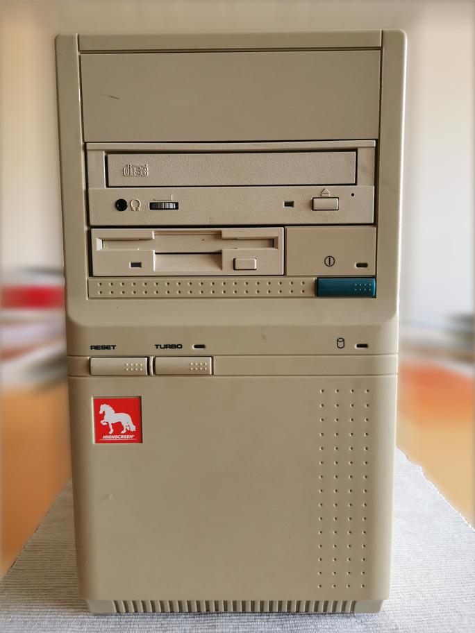 """""""Bodennebel erster PC, ein Vobis Highscreen..."""