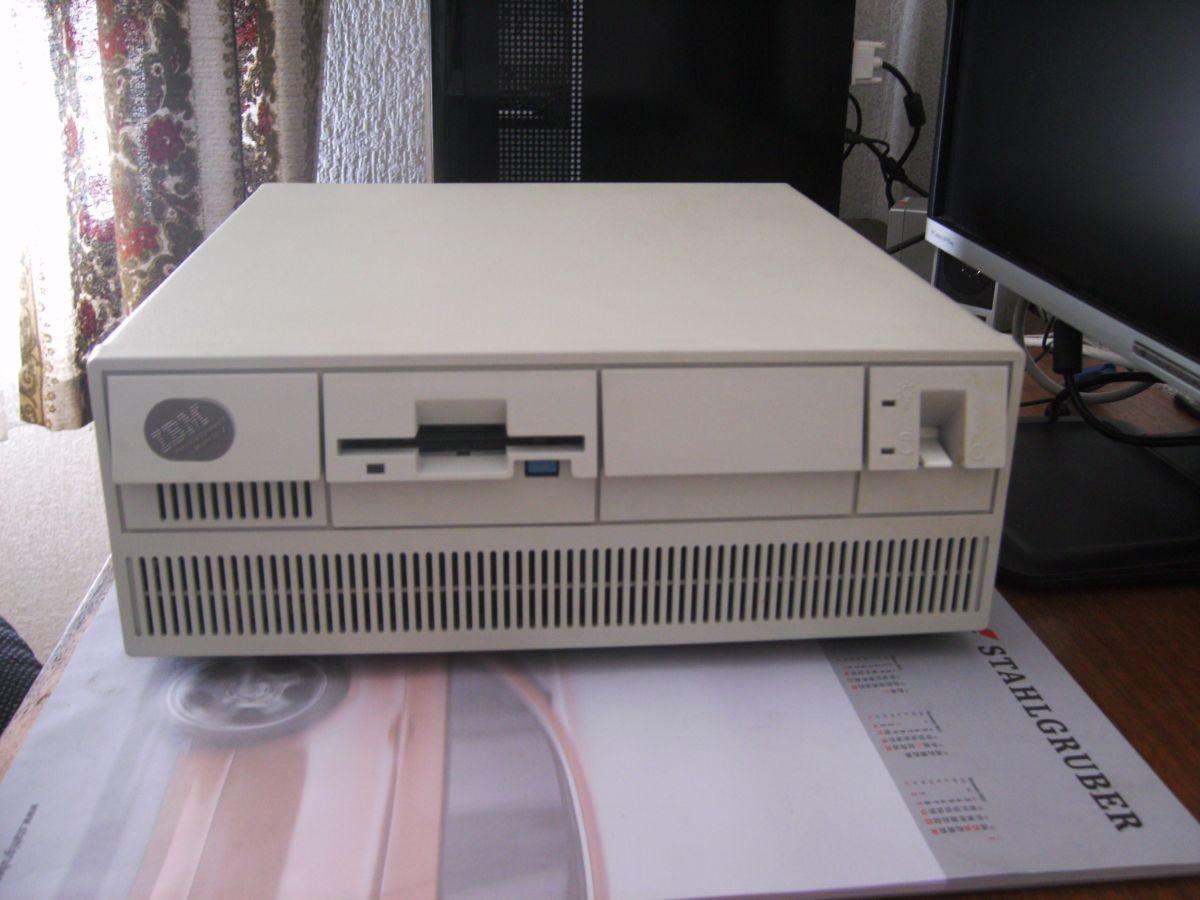 """""""Deo"""" zeigt seinen IBM Ps2/50Z..."""