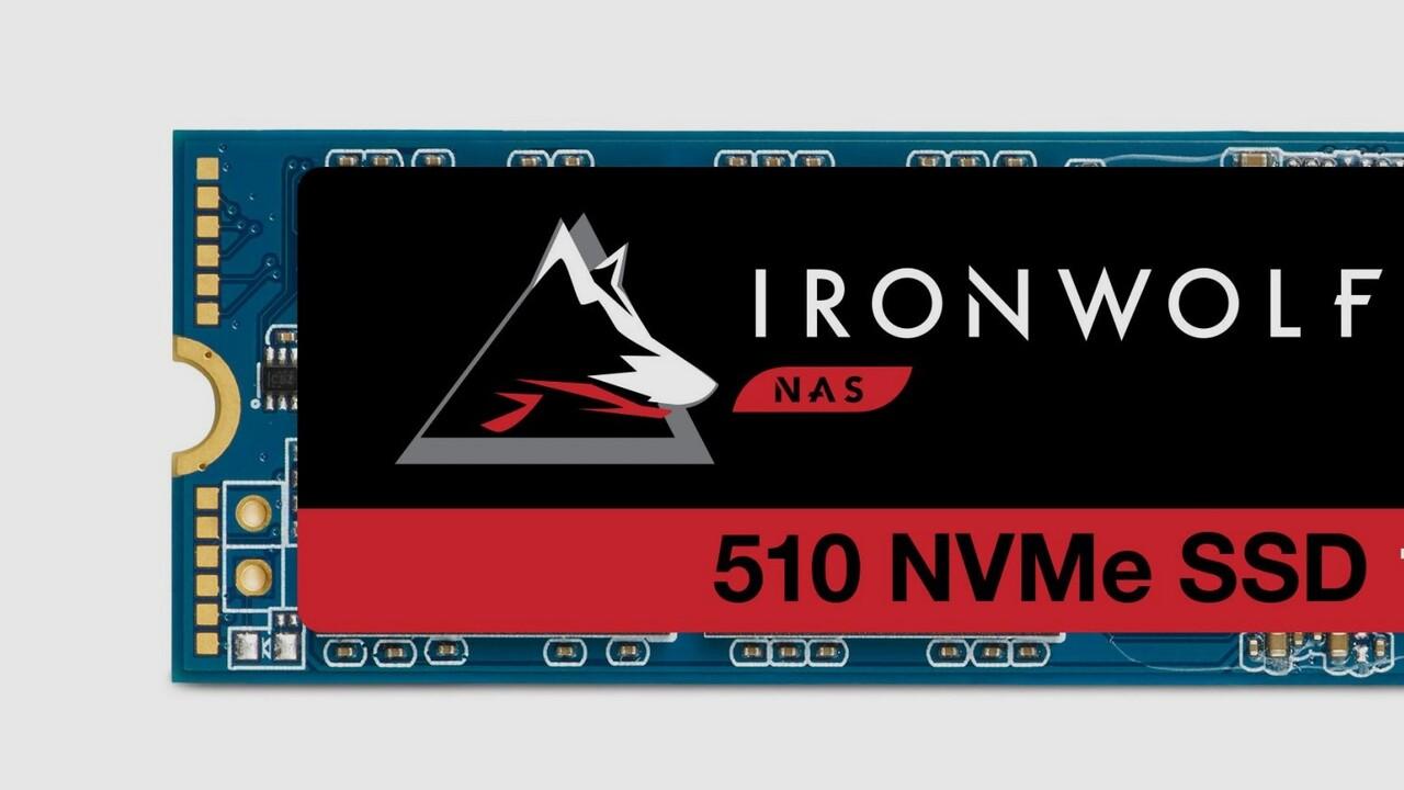 IronWolf 510: Seagate bringt schnelle NVMe-SSDs für NAS