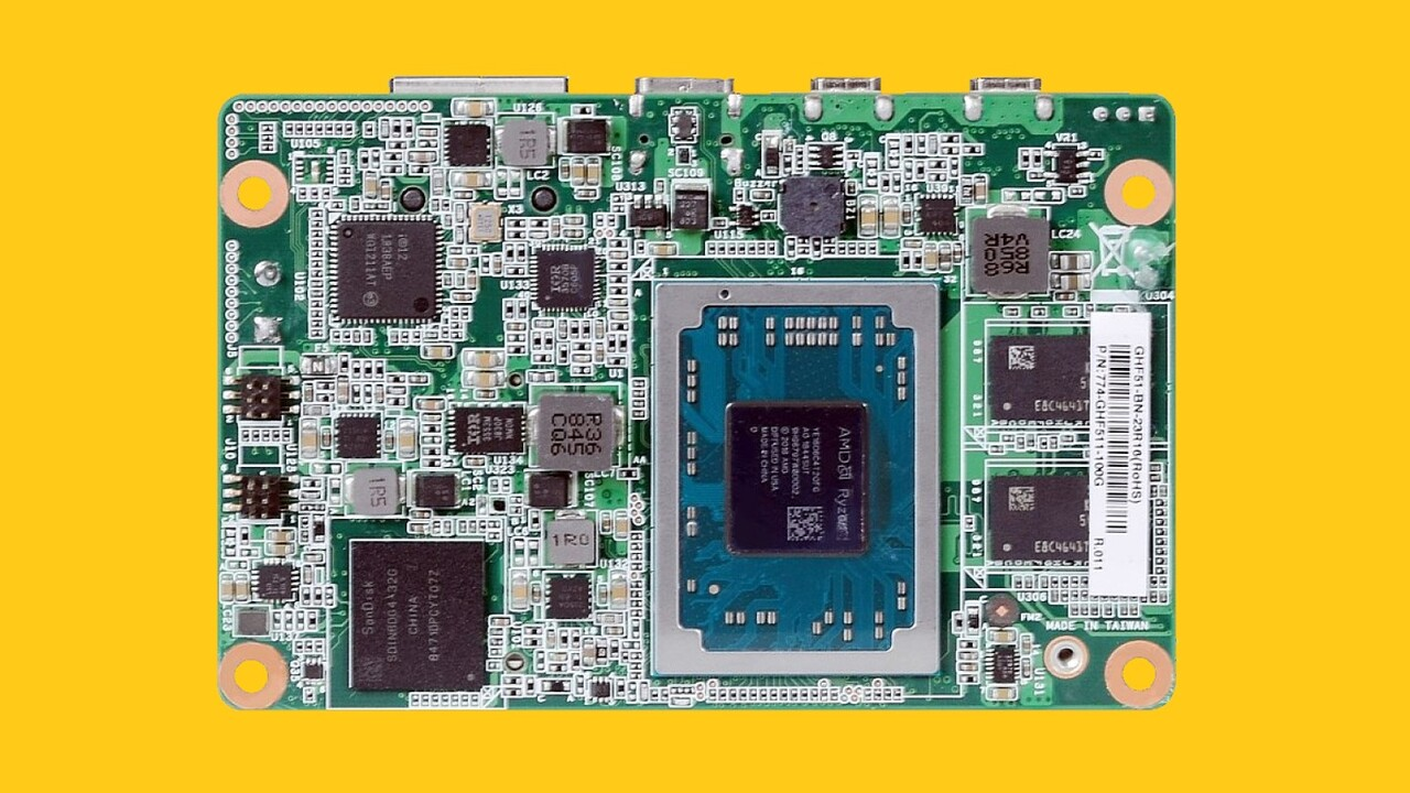Einplatinencomputer: DFI bringt AMD Ryzen im Raspberry-Pi-Format