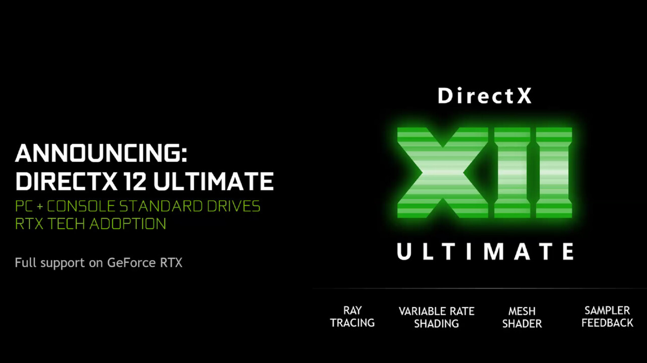 DirectX 12 Ultimate: Neue API für Turing, RDNA2 und XboxSeriesX