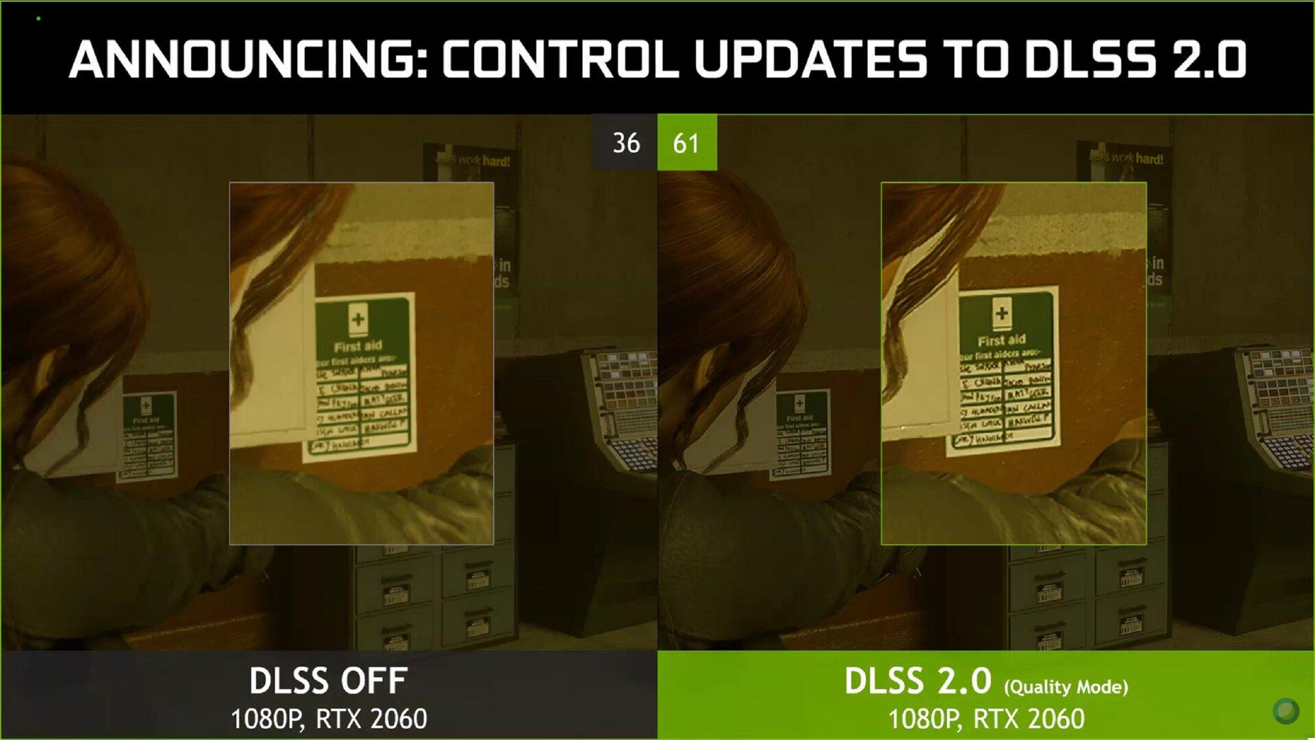 Control mit DLSS 2.0