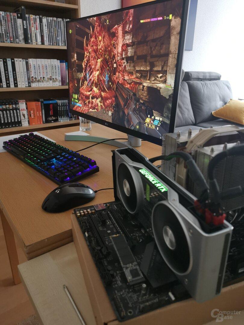 Der erste Technik-Test aus dem Home Office