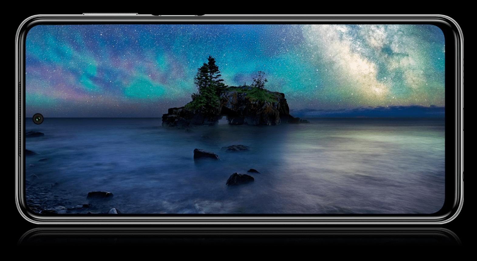 Das 6,67 Zoll große FHD+-Display des Redmi Note 9 Pro ohne Notch