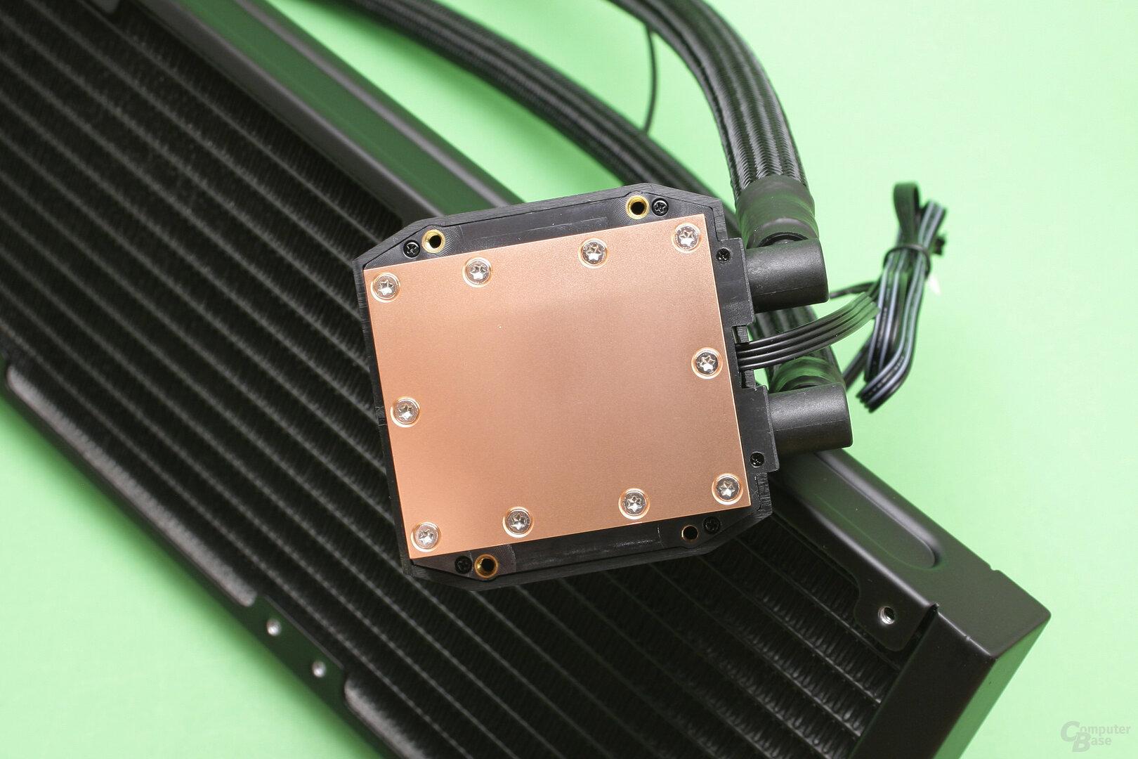 Raijintek EOS 360 RBW: CPU-Kühler aus Kupfer