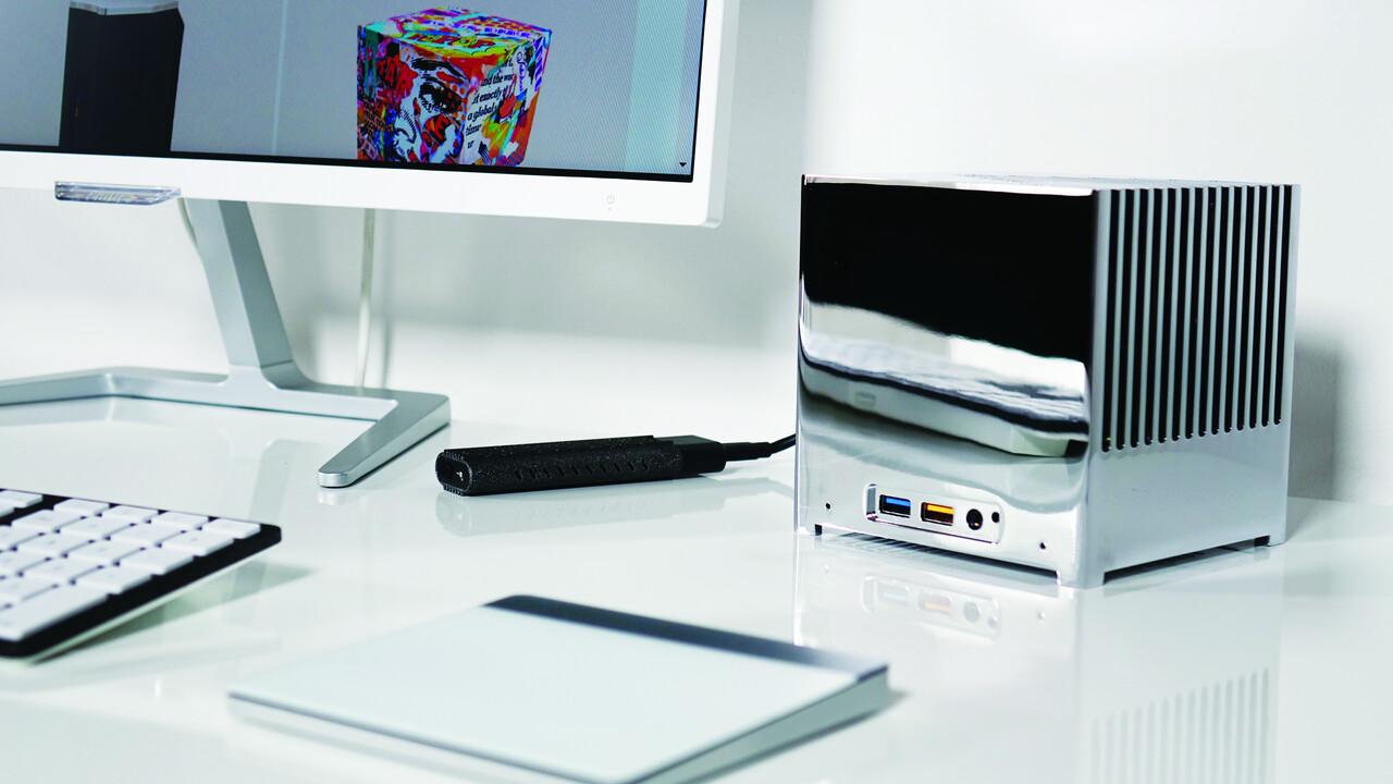 Bleujour Kubb Passiv Edition: Kleiner Würfel-PC mit NUC-Technik fortan auch lüfterlos
