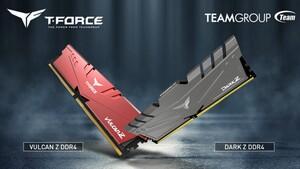 T-Force Dark Z und Vulcan Z: Desktop-DIMMs mit 32 GB bald auch von Team Group